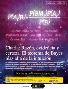 Afiche XXXV Encuentro Escéptiico AECH