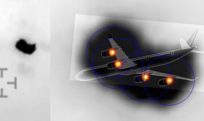 Éste es un close-up del objeto al comienzo del video.