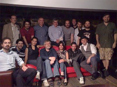 Miembros y colaboradores - Foto tomada el 18 de noviembre de 2010